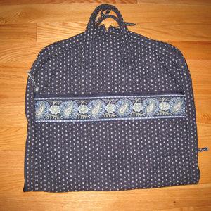 Vera Bradley Blue Paisley Garment Bag